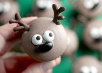 Mini Cupcakes de Rena: Especial de Natal