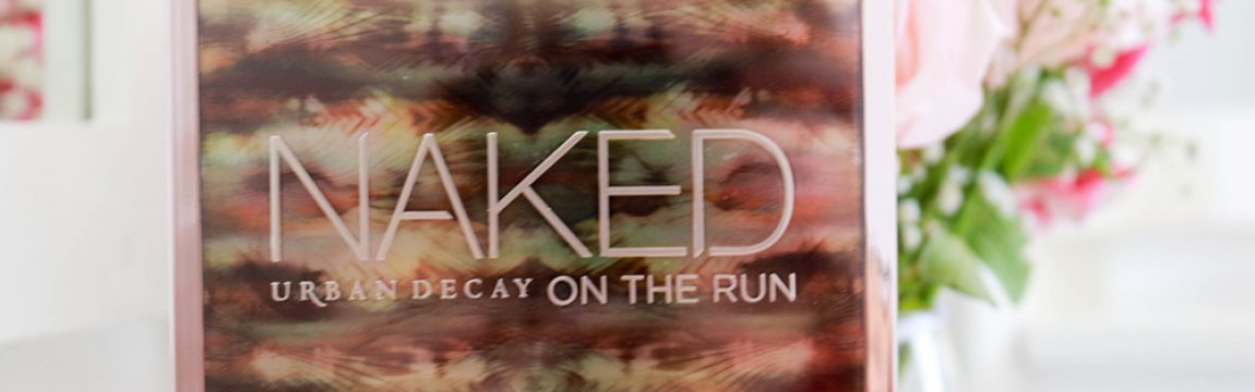 Paleta Naked On The Run Urban Decay