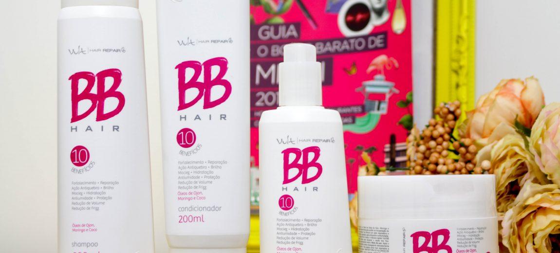 Resenha: Linha BB hair Vult