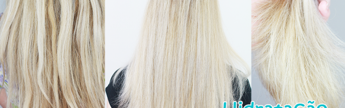 DIY: Hidratação caseira MILAGROSA para cabelos super danificados e elásticos