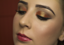 Foto Tutorial: Maquiagem Laranja