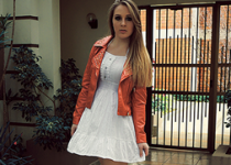LOOKBOOK: JAQUETA  VERMELHA