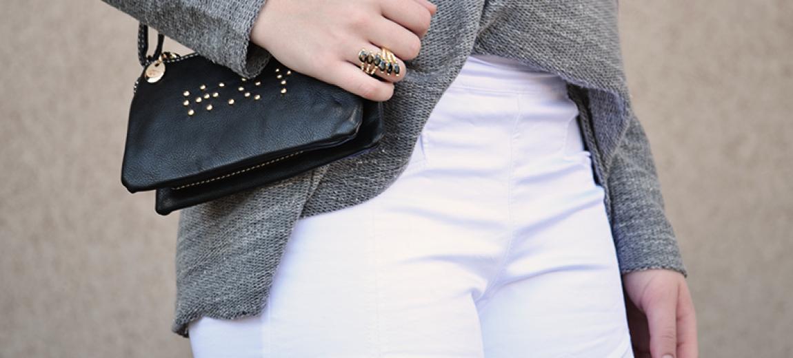 Look: Shorts Branco e Blusa Larga