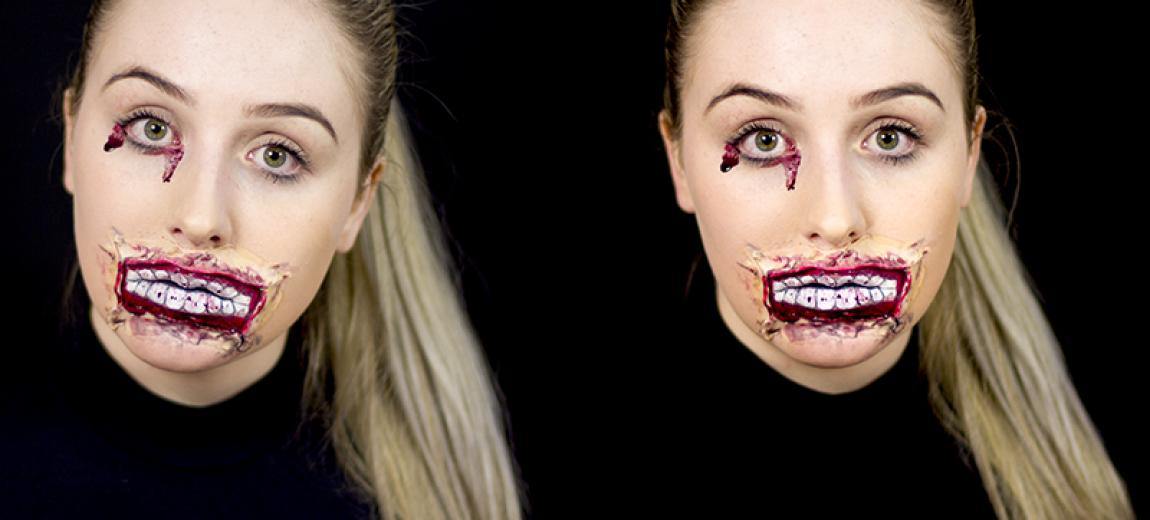 Maquiagem de Halloween: Tutorial
