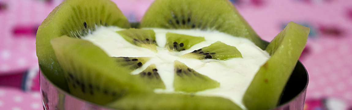Dica delícia: Parfait de Iogurte e Kiwi