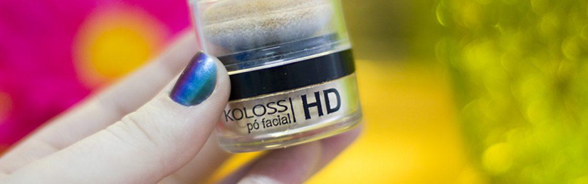Resenha: Pó facial HD Koloss