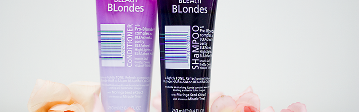 Shampoo e Condicionador Bleach Blondes Lee Stafford