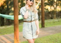 #Look: Vestido Jeans – Jeans is cool!
