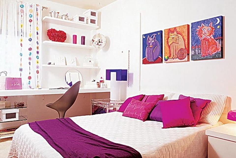 decoração-quarto-rosa